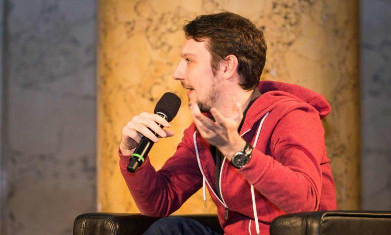 Jakob Reiter auf der Manageers-Konferenz 2015. © Manageers