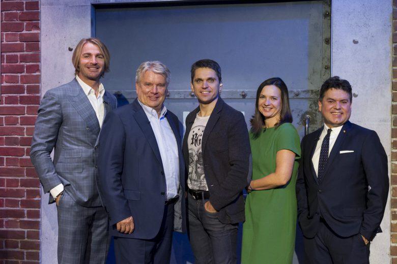 Die Investoren der Show. © Puls 4