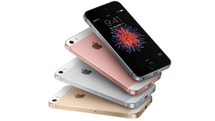 Kleiner, billiger - das iPhone SE. © Apple