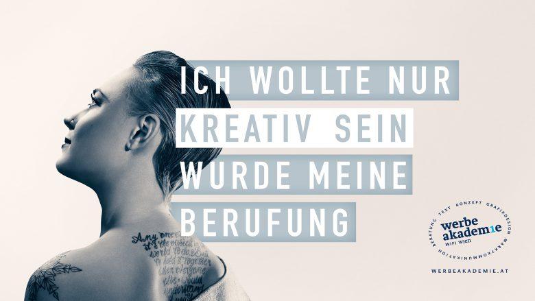 Werbe Akademie Kampagne 2016 von der Agentur Dominanz. © Werbe Akademie