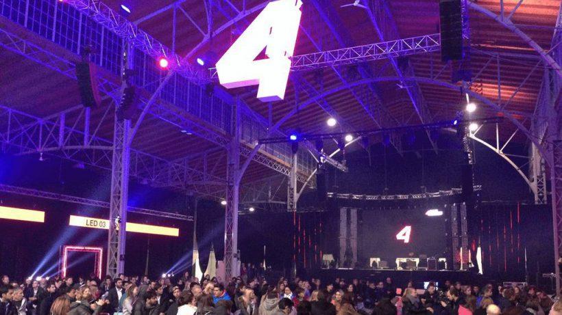 Live-Event aus der Wiener Marx-Halle. © Puls 4