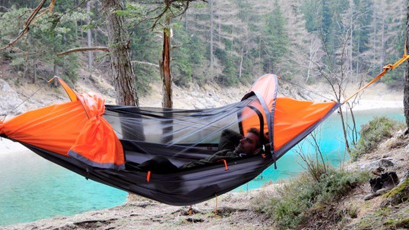 Knapp eine halbe Million für flying tent © Startraveller
