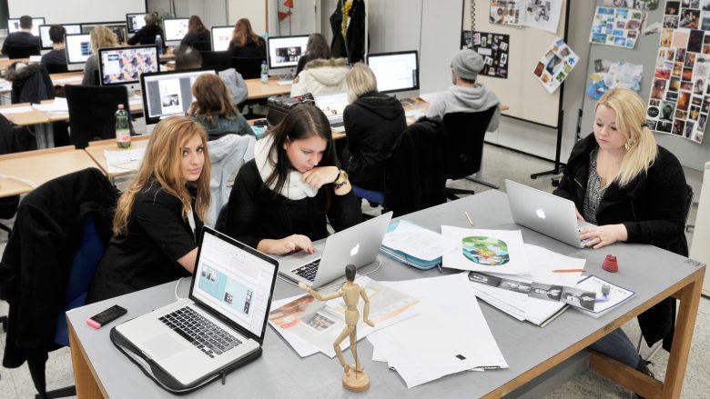 Atelier der Werbe Akademie. © Tina Dietz