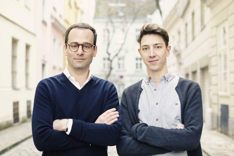 Paul Resch und Alexander Lachinger von Greetzly. © Greetzly