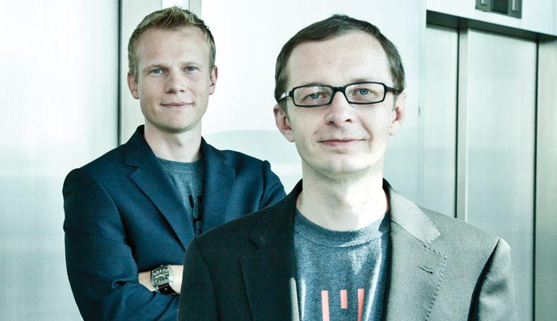 Die LingoHub-Gründer Helmut Juskewycz und Markus Merzinger. © LingoHub