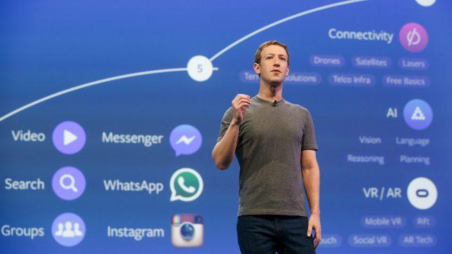 Mark Zuckerberg, der Herr der Daten. © Facebook