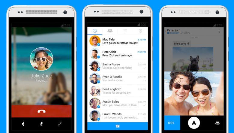Immer neue Funktionen: Facebooks Messenger. © Facebook
