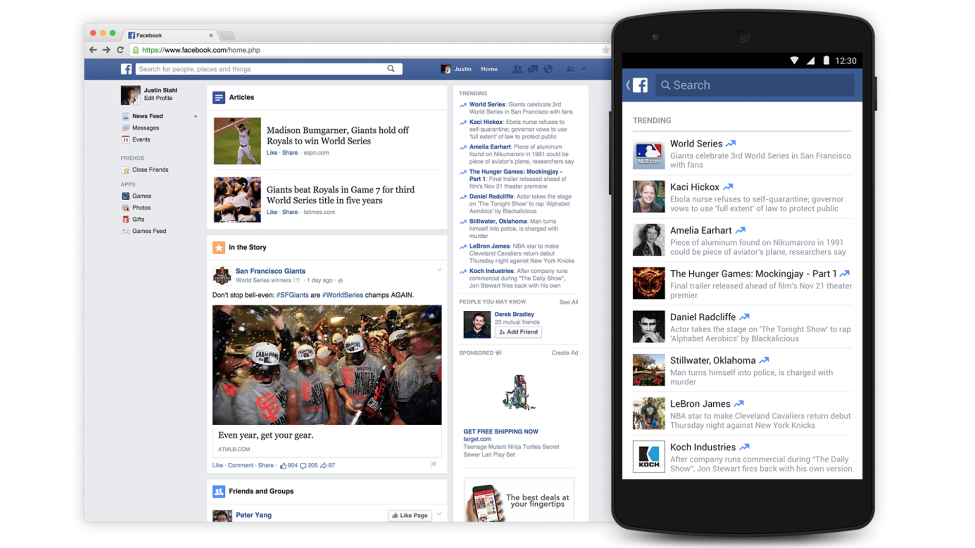 """Facebook zählt SMSvonGesternNacht.de zu relevanten """"News ..."""