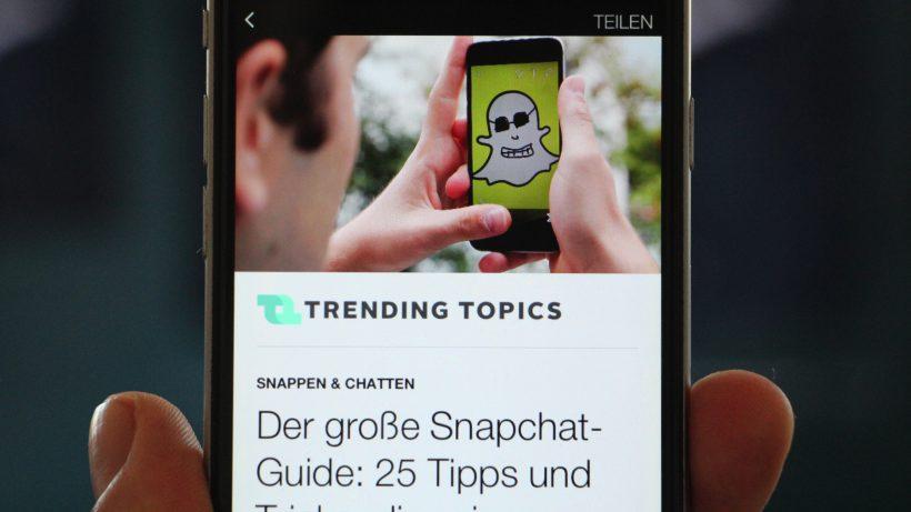 Lädt ziemlich flott: Ein Instant Article am iPhone. © Jakob Steinschaden