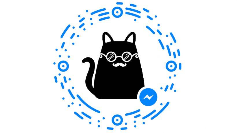 Bild mit der Messenger-App scannen und dann mit Mica chatten.