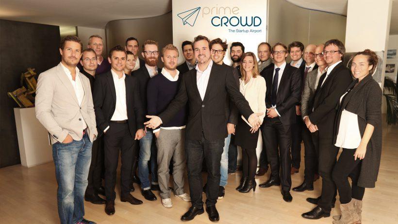 Die PrimeCrowd-Gesellschafter rund um Gründer Markus Kainz. © PrimeCrowd