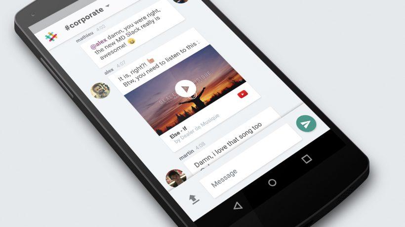 Slack ist für iOS und Android zu haben. © Slack