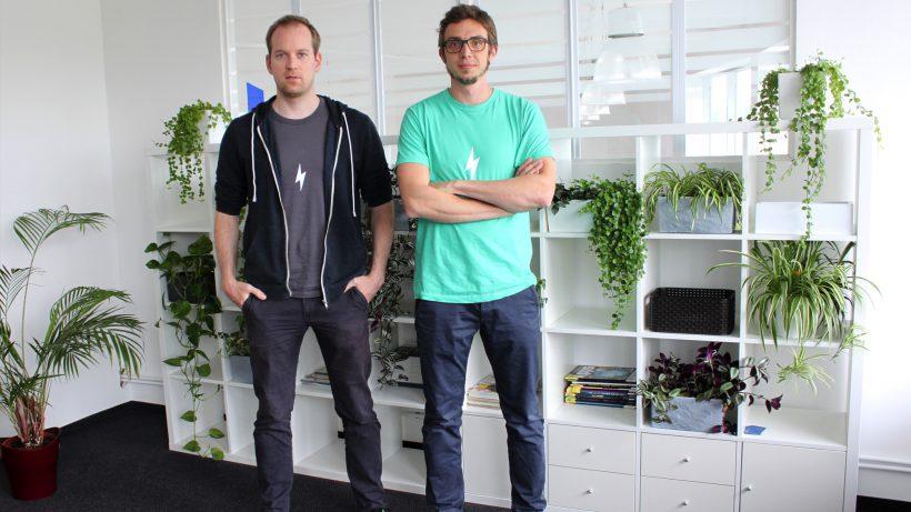 Die beiden Storyclash-Gründer Philip Penner und Andreas Gutzelnig. © Storyclash