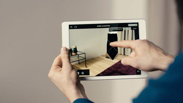 Die BeoHome Design App. © Bang & Olufsen
