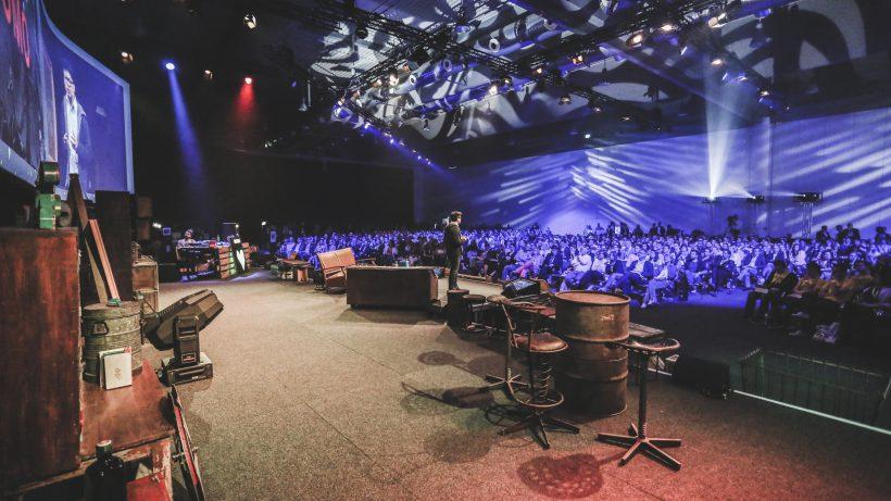 Grazer Stadthalle wartet auf 3000 Besucher. © Fifteen Seconds