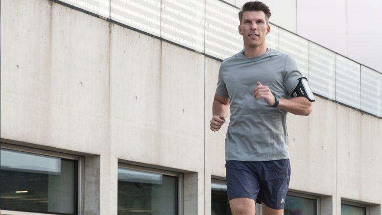 Runtastic-CEO Florian Gschwandtner beim Laufen. © Runtastic
