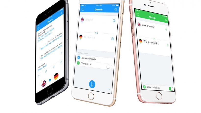 Die zehnte Version der Grazer App iTranslate ist da. © iTranslate