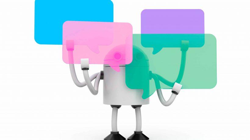 Wollen sich ins Gespräch einmischen: Chatbots. © Fotolia/AKS