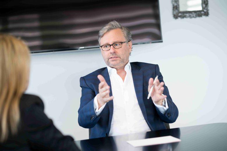 Alexander Wrabetz im Interview. © David Bohmann