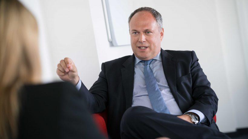 Richard Grasl, Kaufmännischer Direktor des ORF. © David Bohmann