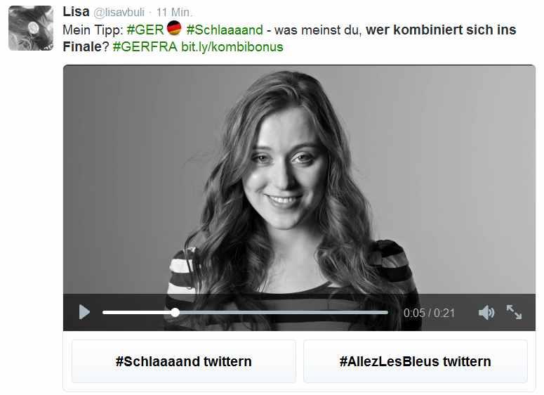 Twitter-Werbung