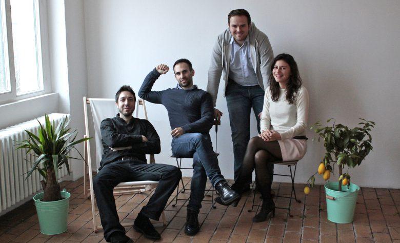 Das Zizoo-Team: Benito Gonzalez del Valle, Sinan Masovic, Ivan Miletic und Anna Banicevic © Francesco Lusa