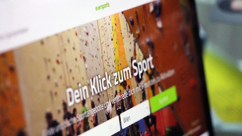 Eversports ist bald auch in Smartphone-Apps nutzbar © Jakob Steinschaden