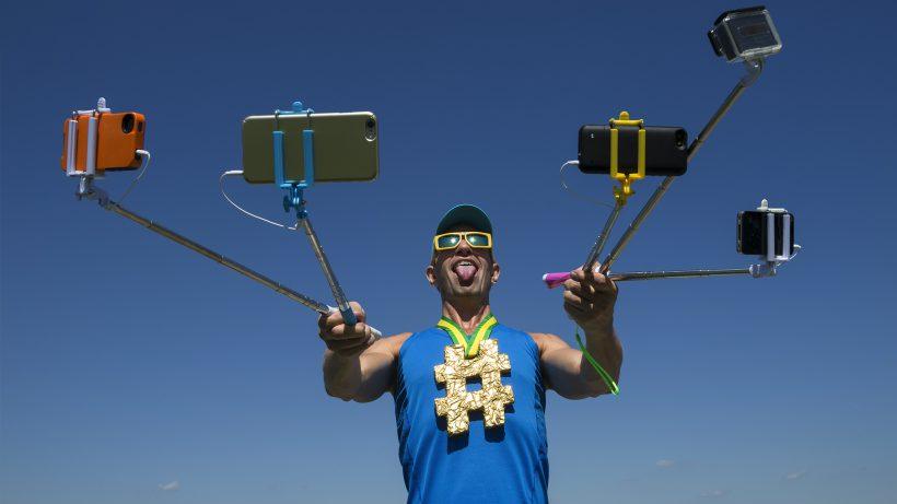 Gefährliches Rampenlicht: Social Media während den Olympischen Spielen. © Fotolia/crazyllama