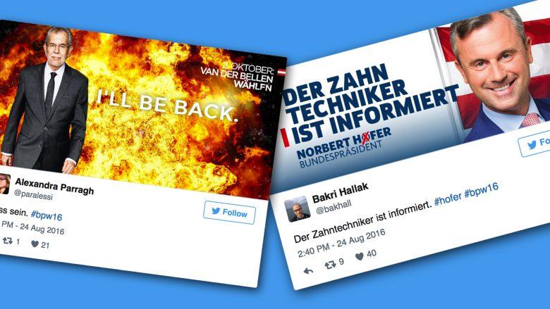 Twitter-Spaß mit dem neuen Plakat-Generator.