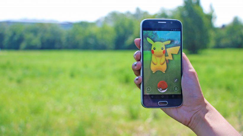 Endlich nach draußen dank Pokémon Go. © Jakob Steinschaden