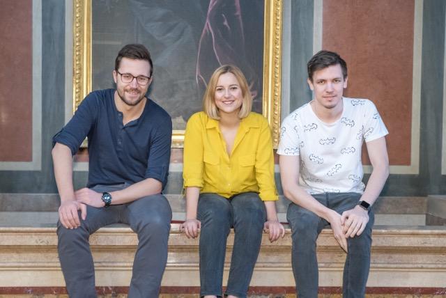 Das Gründer-Team: Christoph Trost, Verena Mai und Roger Kerse. © UNIspotter