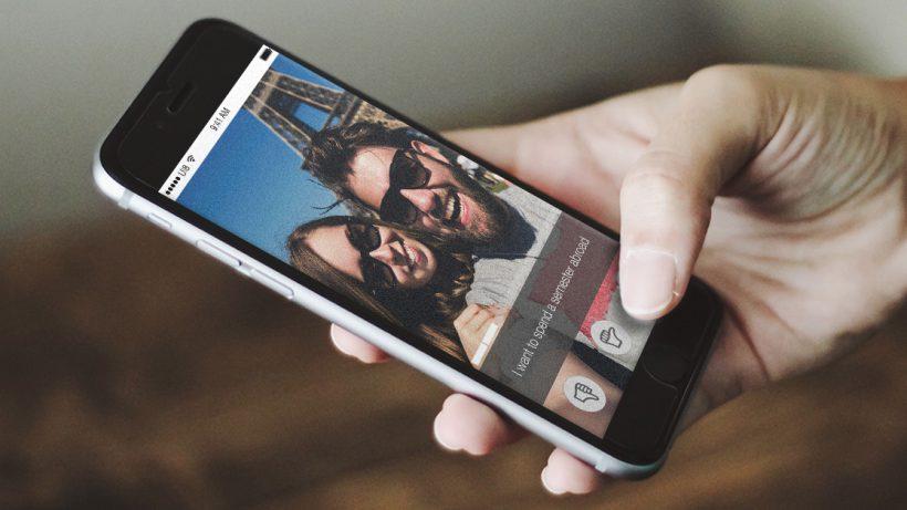 Die iPhone-App von UNIspotter. © UNIspotter