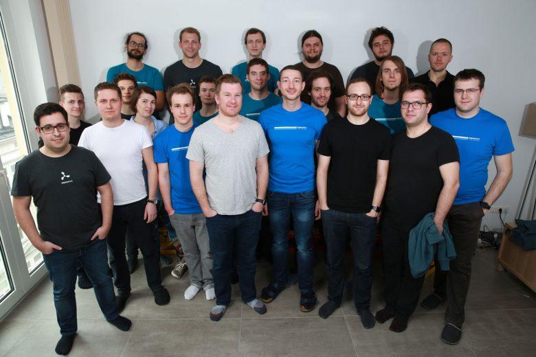 Das Team rund um Peter Steinberger. © PSPDFKit