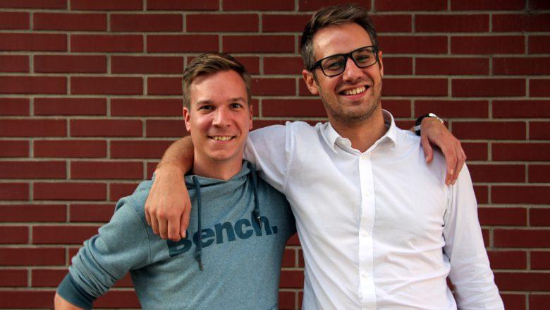 Jakob Steinschaden und Bastian Kellhofer, trotzdem noch gut miteinander. © Gerlinde Giesinger
