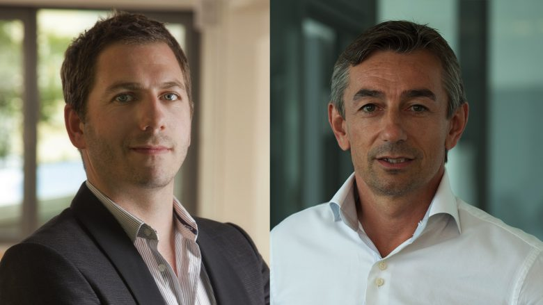 Michael Lipper von Conda und Christian Tiringer von Arax. © Conda