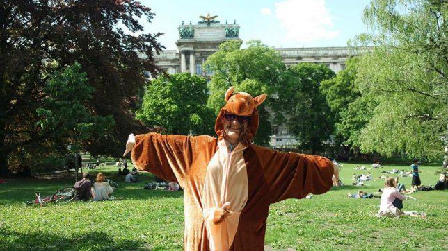 Zusammen verrückte Sachen machen. Jump around ist die neue Social-app für Wien © Jump Around