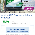 Gaming-Notebook von Acer