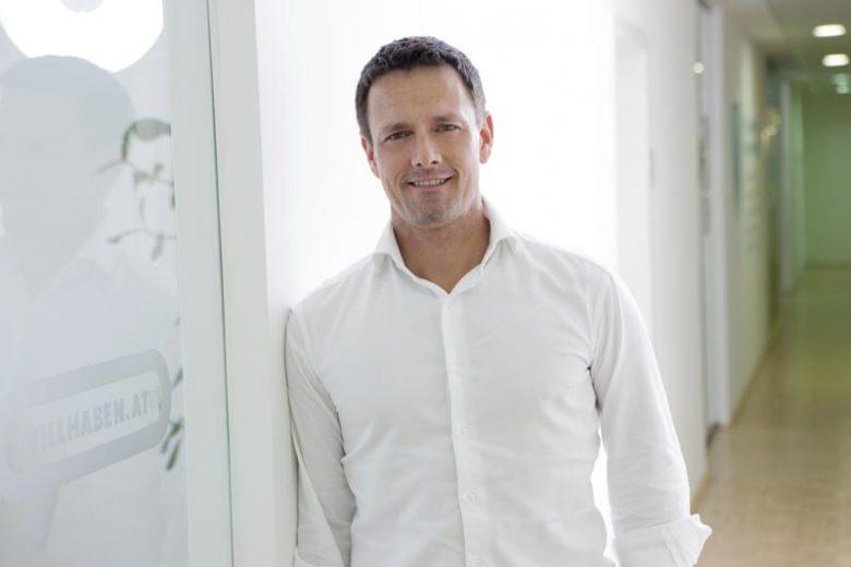 Jochen Schneeberger von willhaben startet Native Couponing-Kampagne ©willhaben
