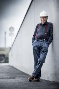Unternehmerlegende Karl Schwarzl ist auch mit 88 noch für Start-ups aktiv © Schwarzl Flexbox / Christian Jungwirth