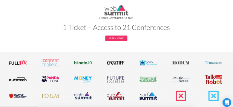 1 Ticket = 21 Konferenzen