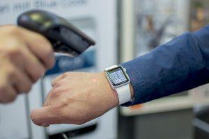 Blue Code auf der Apple Watch © tobaccoland