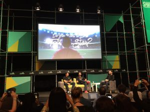 Der portugiesische Fußballstar Luis Figo darf beim Web Summit in Lissabon natürlich nicht fehlen