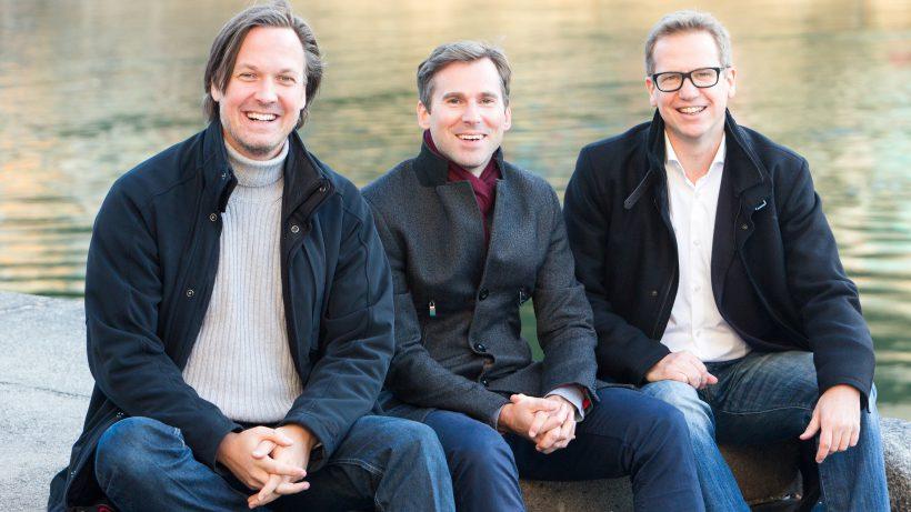 Markus Wagner (Chairman, i5invest), Herwig Springer (CEO, i5invest) und Thomas Reiter (Gründer, Reiter PR). © Stephan Rauch