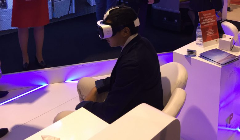 "Tap VR ""Airspace"" am Web Summit 2016 in Lissabon"