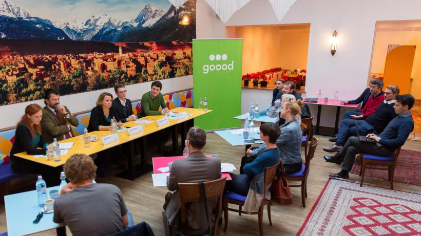 24 Millionen Euro an Spenden möchte Goood in den nächsten fünf Jahren am deutschen und österreichischen Markt generieren. (© Goood)