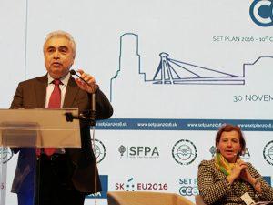 Fatih Birol, Chef der IEA © SET Plan Conference 2016