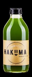 Matcha-Drink Hakuma in der Flasche