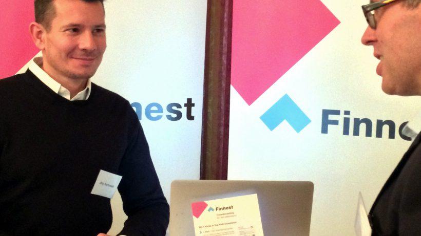 Jörg Bartussek bekam eine Million Euro für die Finanzierung von Mittelstandsunternehmen. © Finnest