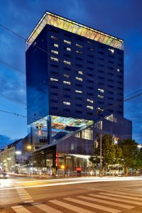 Der Design-Tower in der Praterstraße 1