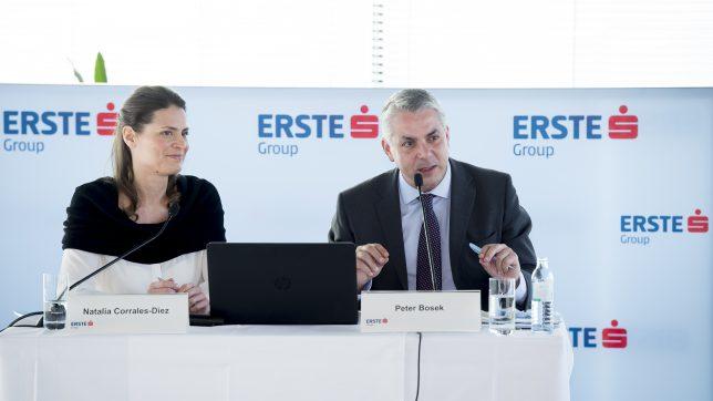 Natalia Corrales-Diez und Peter Bosek stellen Erste Venture Capital vor.